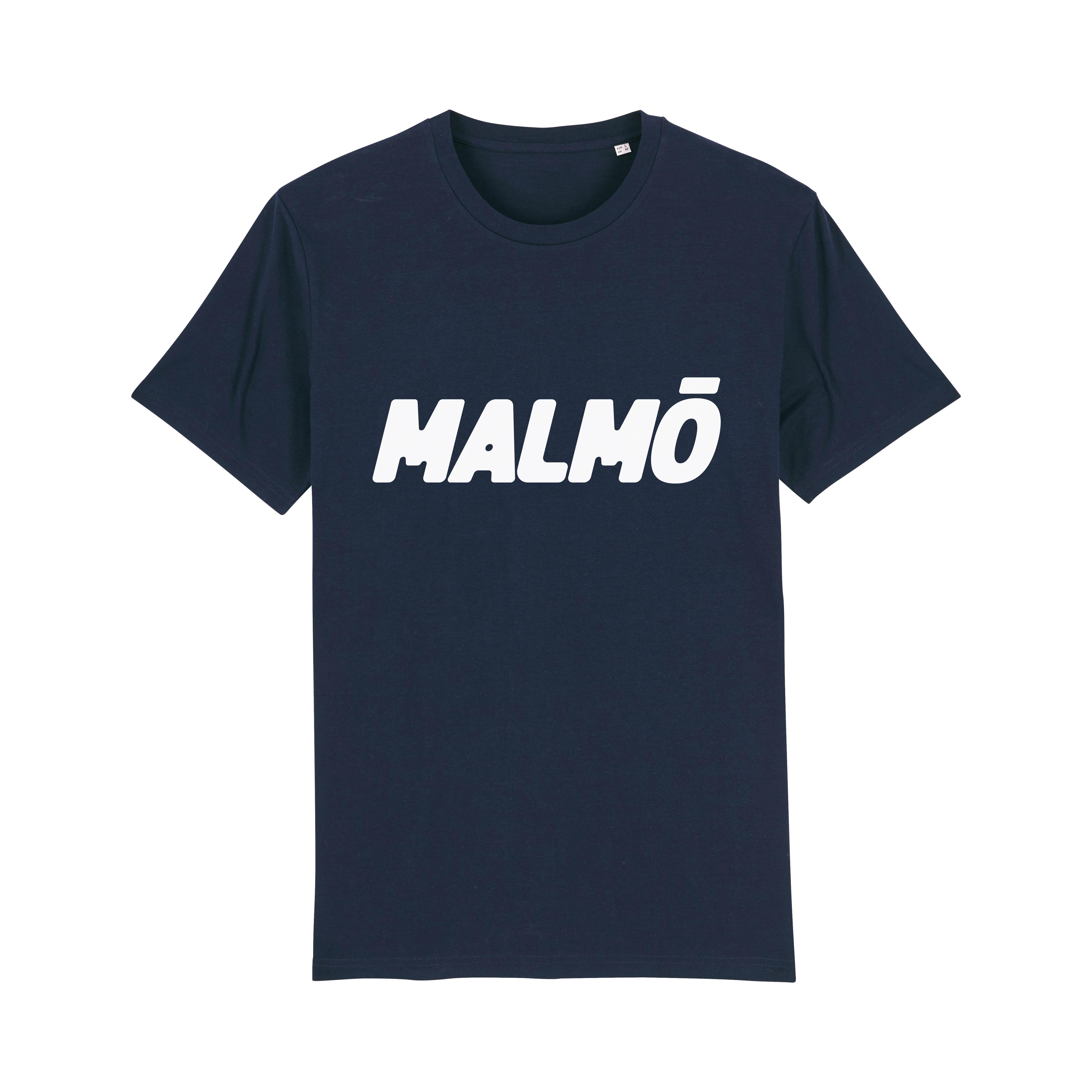 MALMÖ - T-shirt Navy