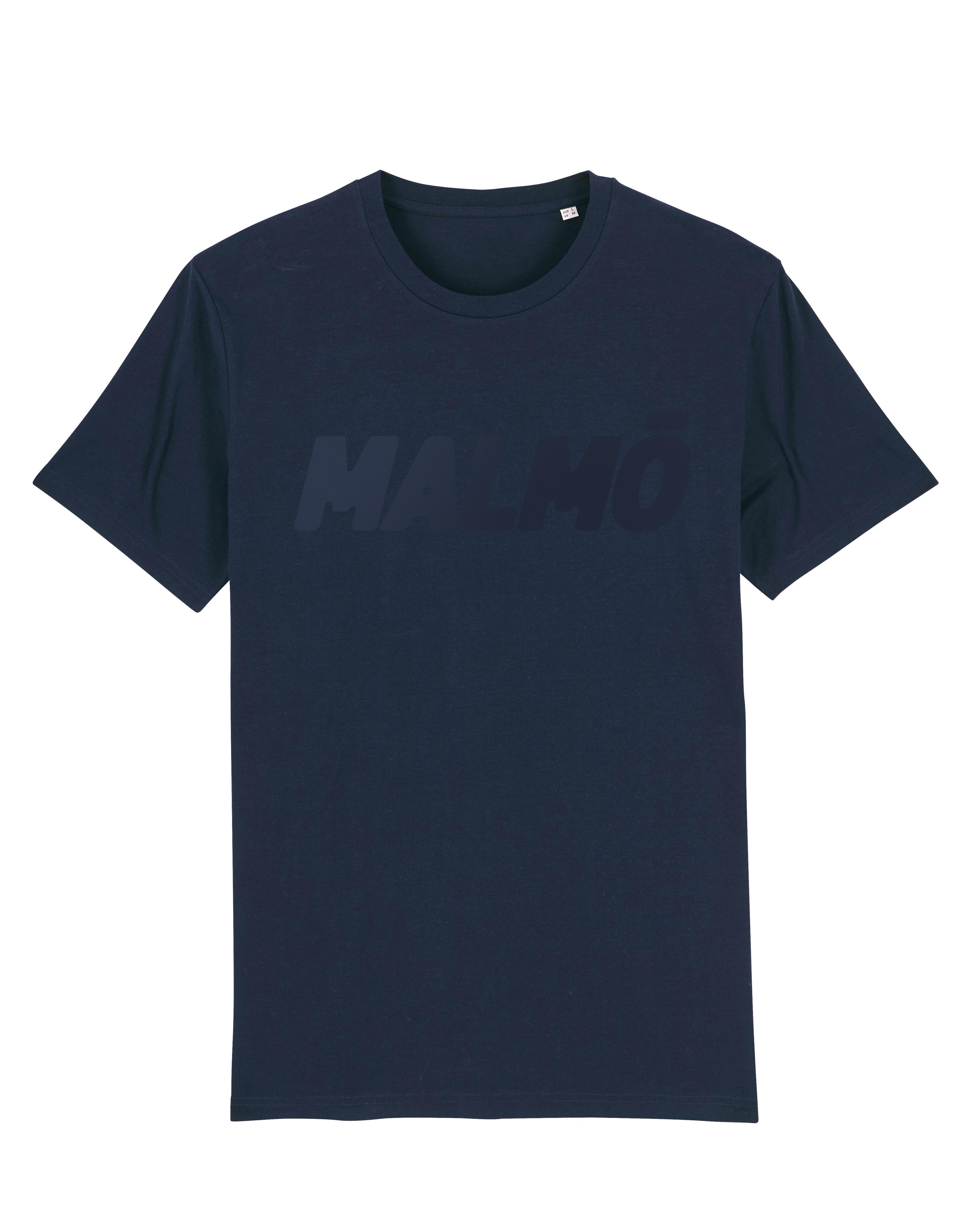 MALMÖ Ton-i-Ton - T-shirt Navy