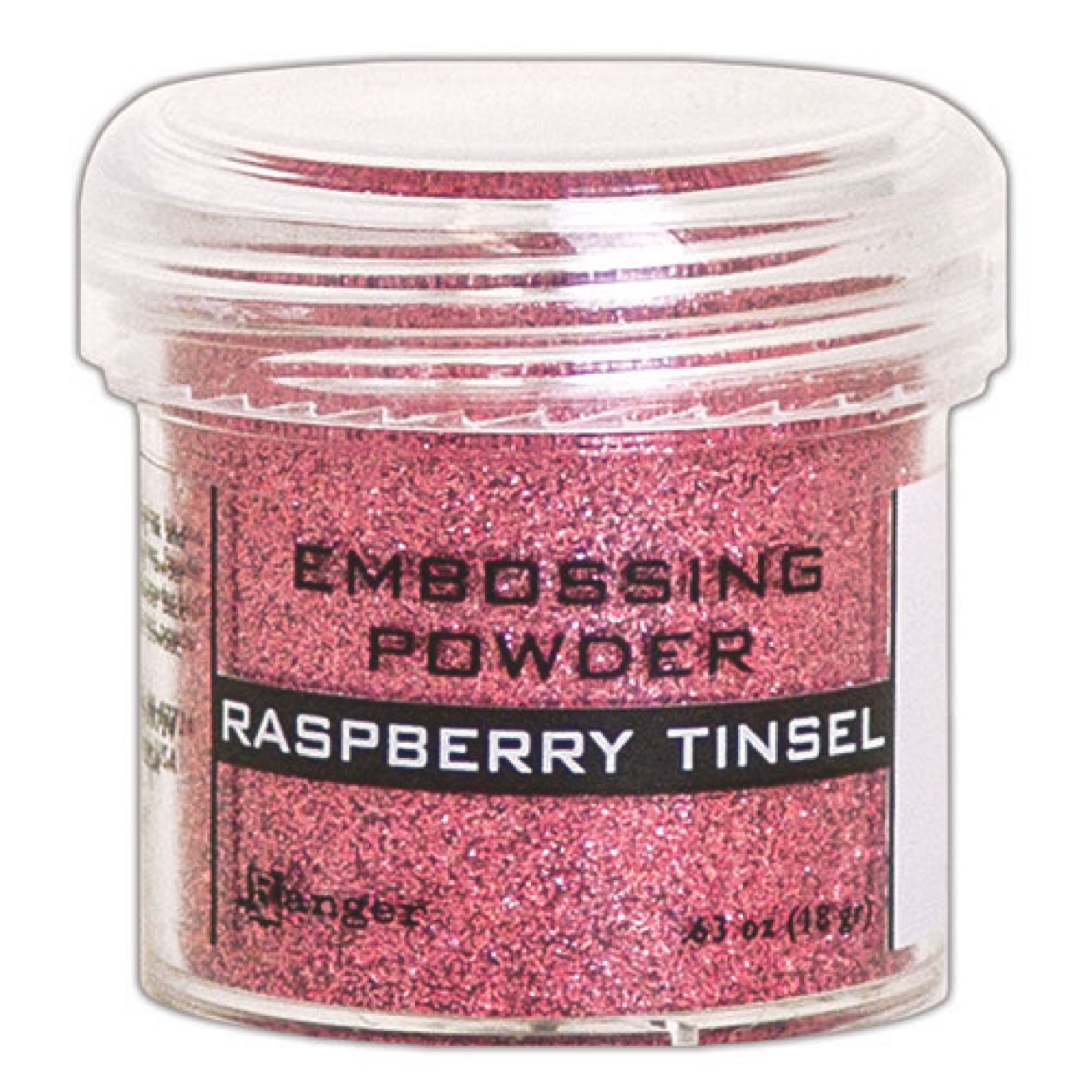 Ranger Embossing Powder- Raspberry Tinsel