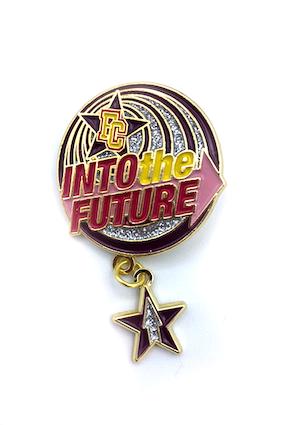 Into The Future Event Pin