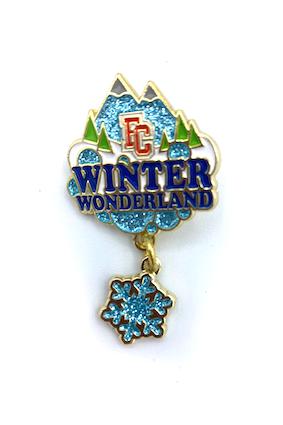 Winter Wonderland Event Pin
