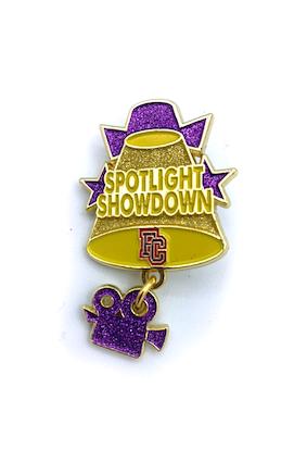 Spotlight Showdown Event Pin