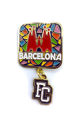 Barcelona Event Pin