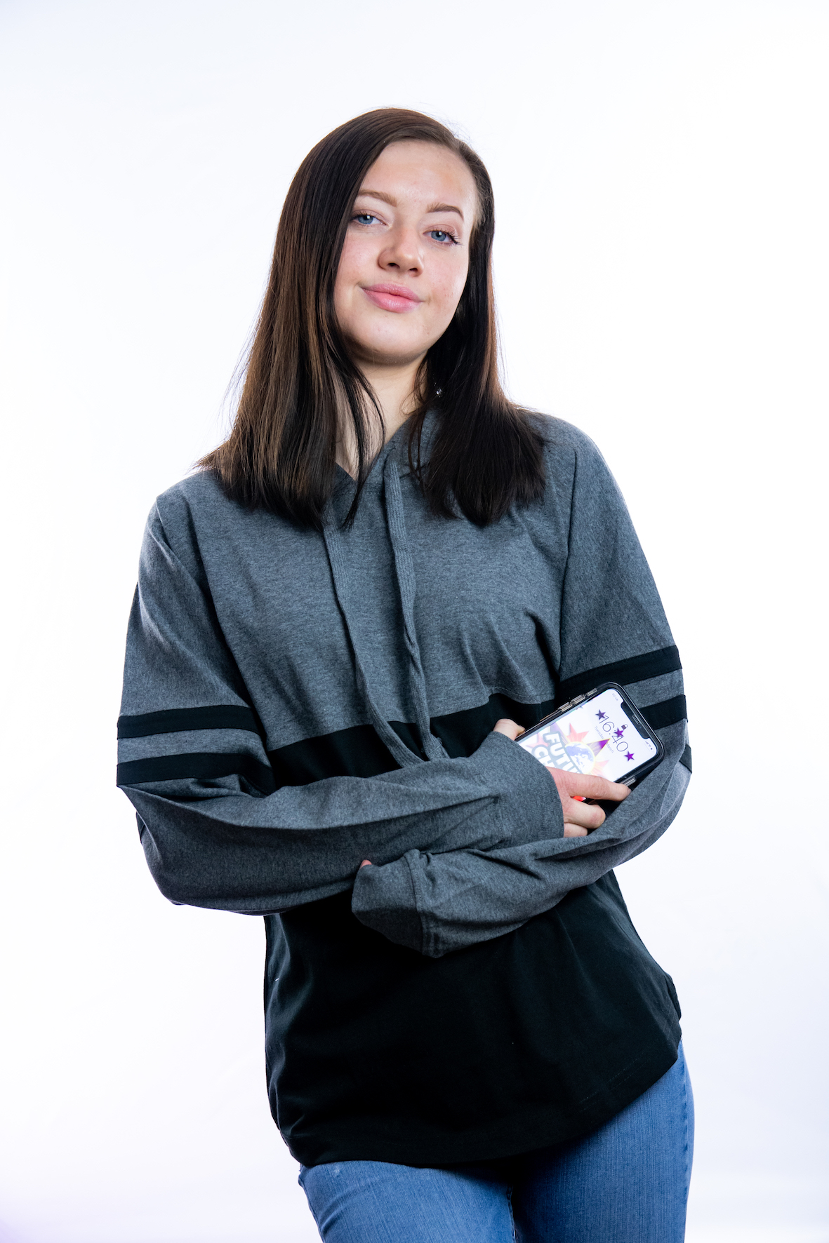 Cover Up Hoody Charcoal / Black ADULT
