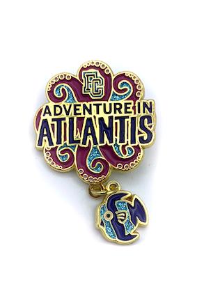 Adventure In Atlantis Event Pin