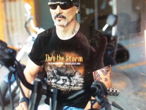 WinterStorm V - Merchandise - Thru the 'Storm T-shirt