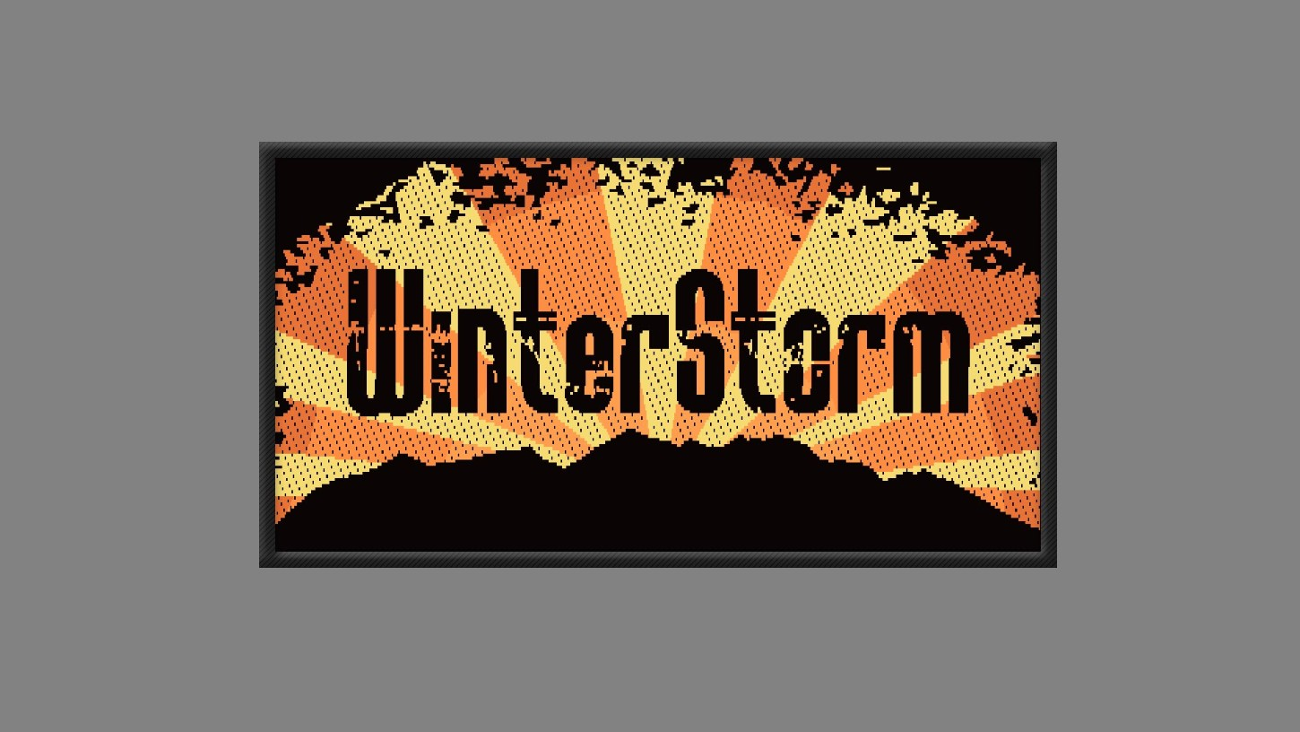 WinterStorm - Merchandise - Embroidered Patch
