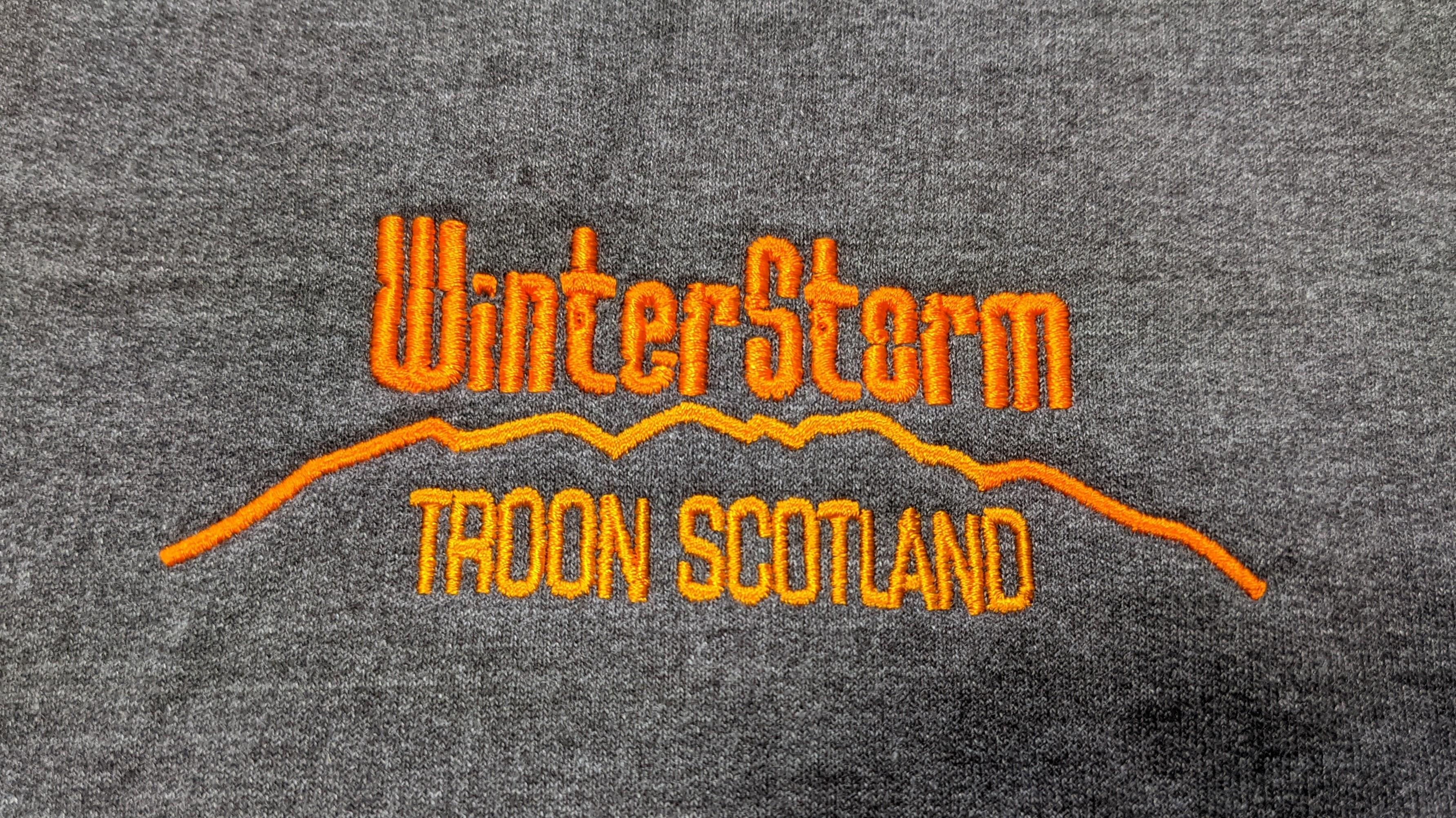 WinterStorm - Merchandise - Hoodie Grey