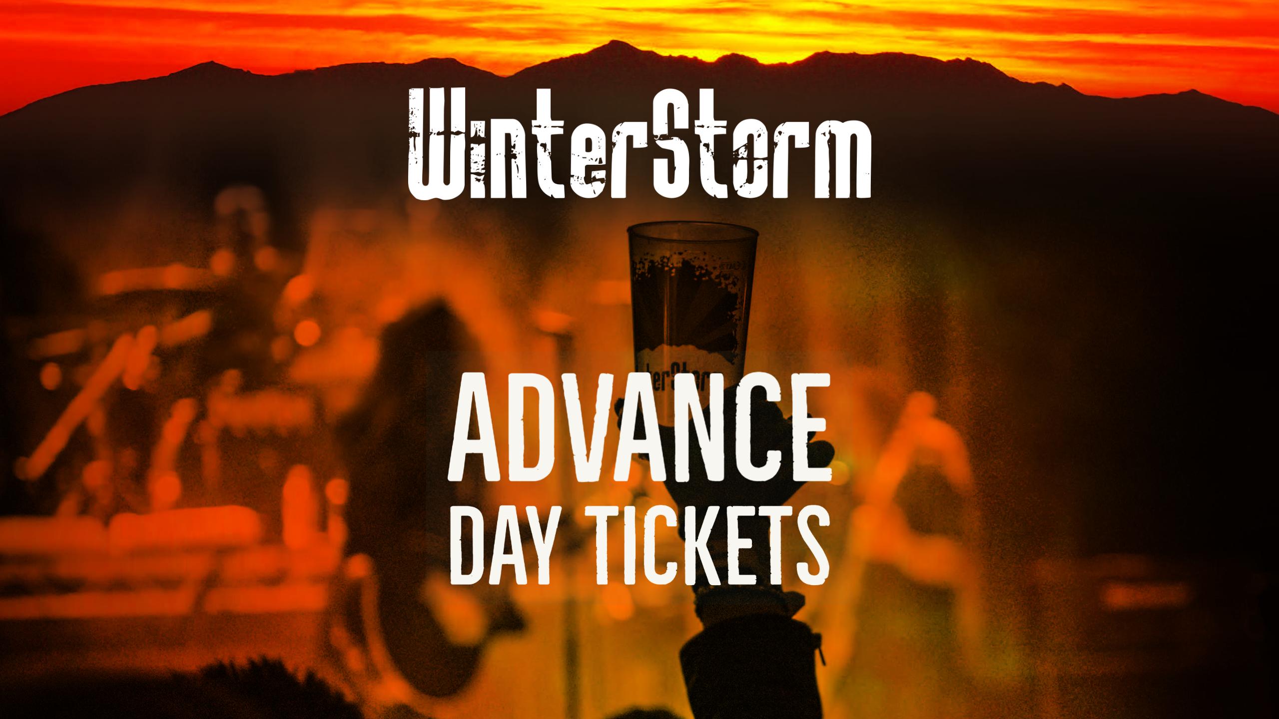 WinterStorm V - Day Tickets