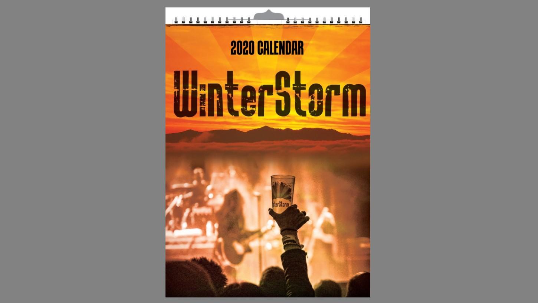 WinterStorm - Merchandise - Calendar 2020