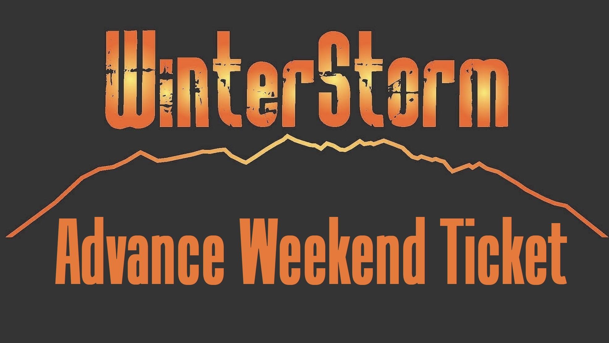 WinterStorm 20 - Advance Weekend Ticket