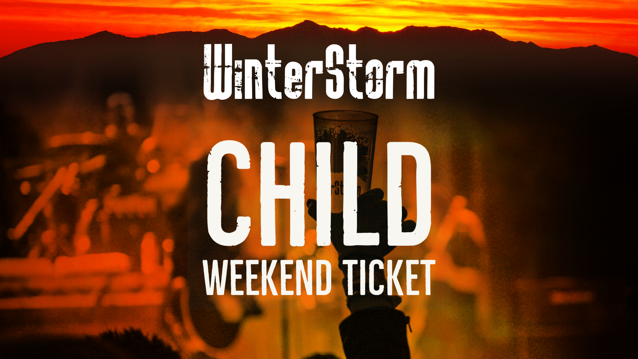 WinterStorm V - Advance Weekend Ticket Child