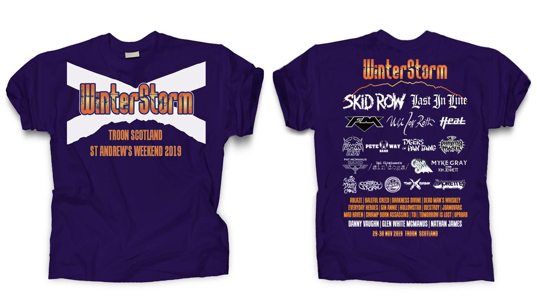 Winterstorm - Merchandise - Saltire Shirt 19