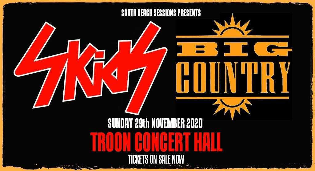 WinterStorm 20 - Big Country & The Skids