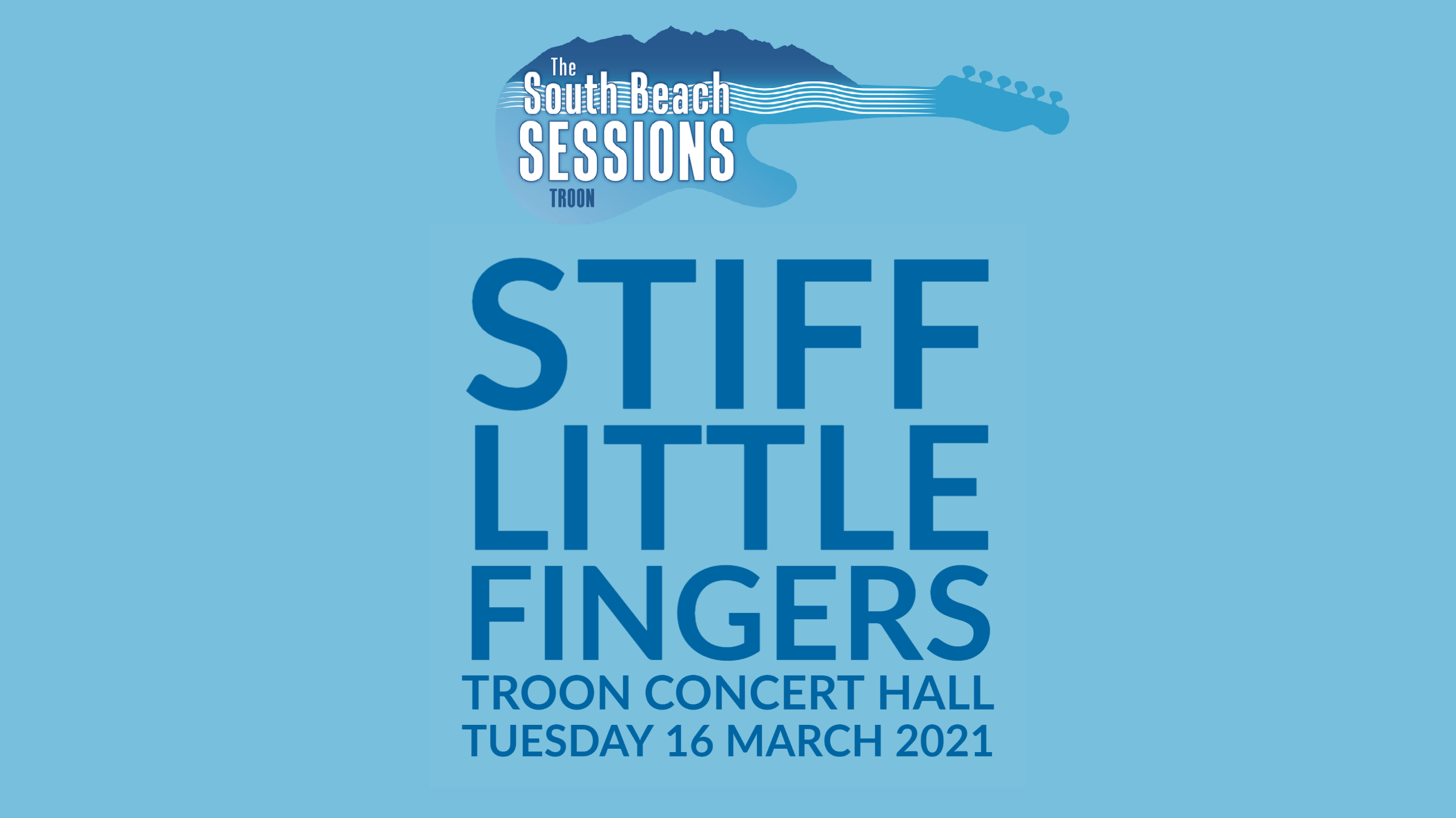 Sessions - Stiff Little Fingers - LIMITED AVAILABILITY