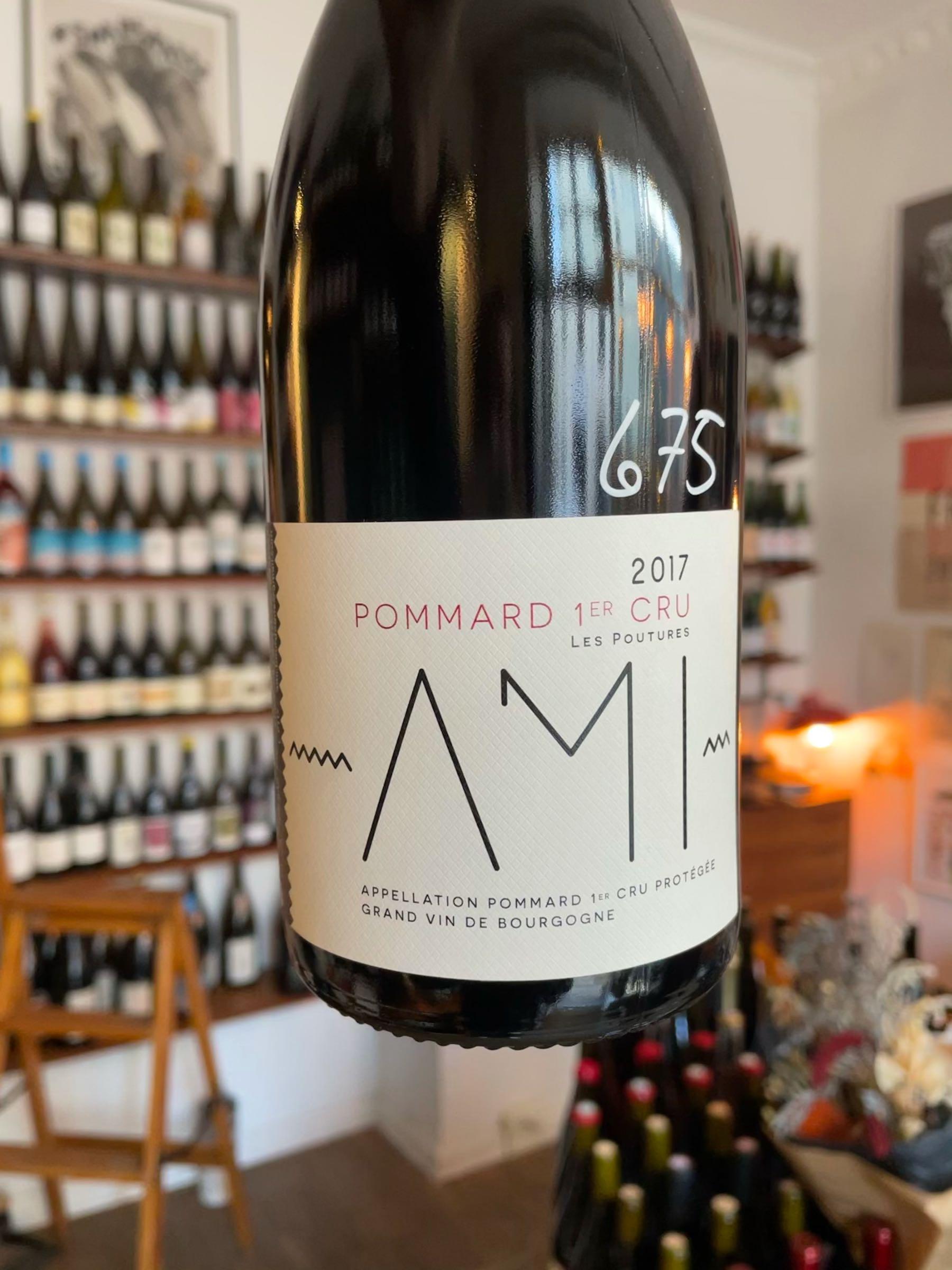 """Pommard 1er Cru """"Les Poutures"""" 2017 - AMI"""