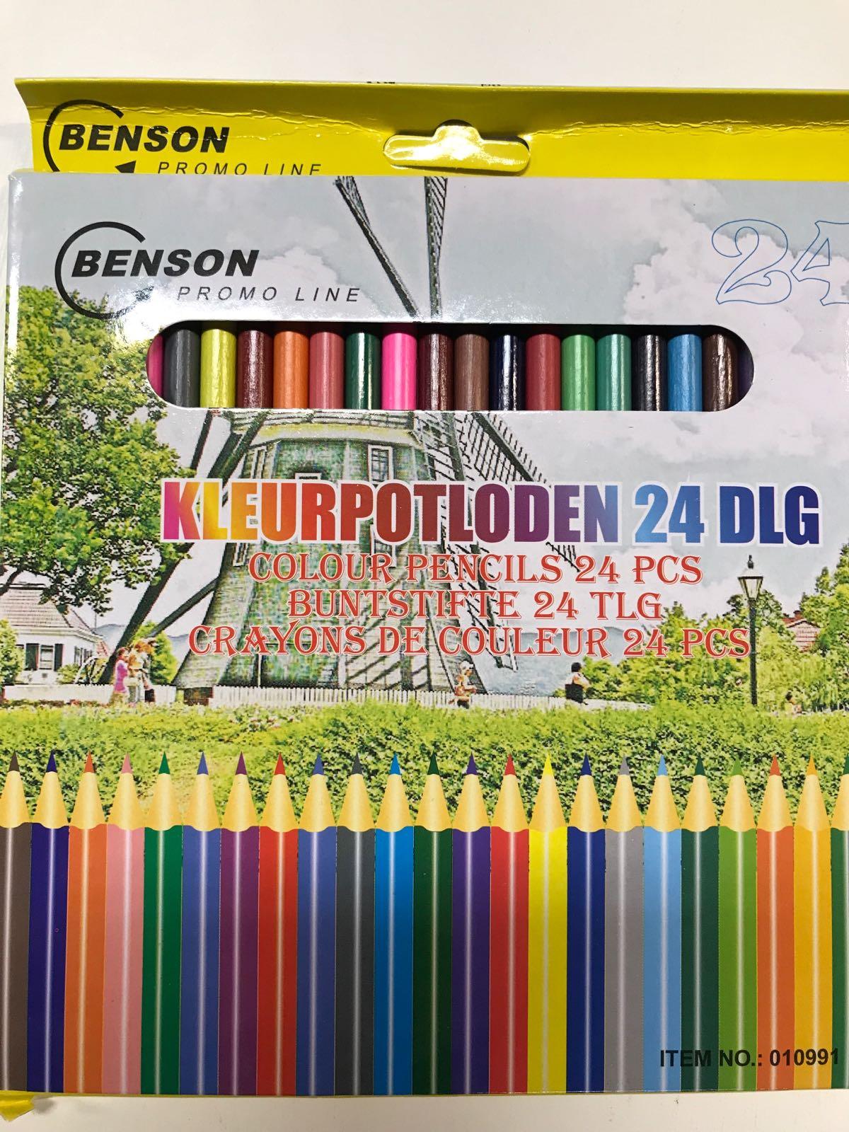 Färgpennor 24 olika