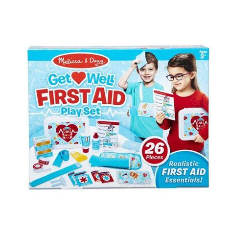 First Aid play set