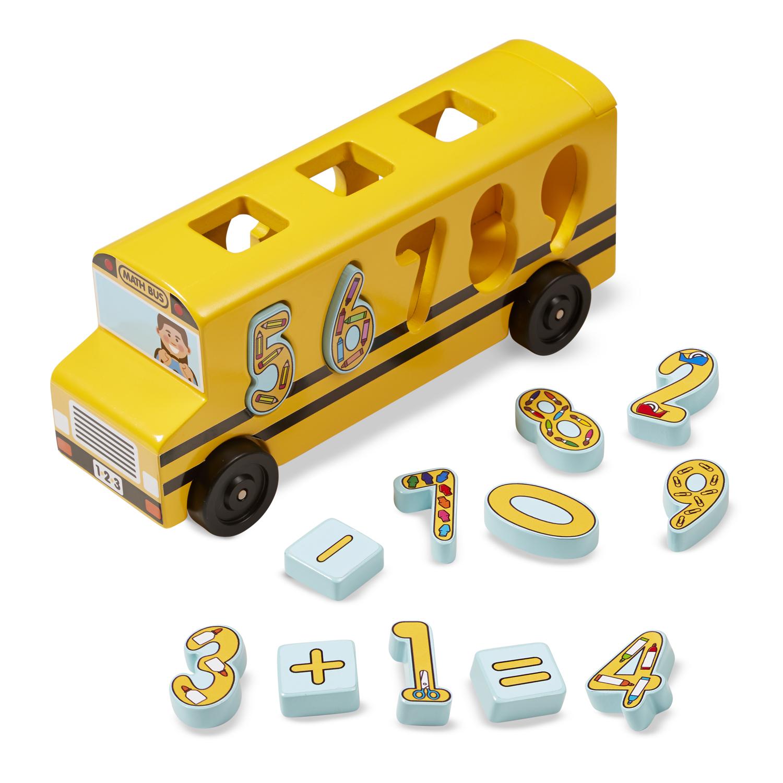 Number Matching Maths Bus