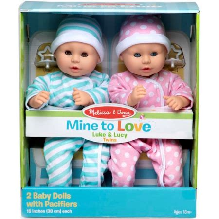 Mine to Love - Luke and Lucy Baby Dolls