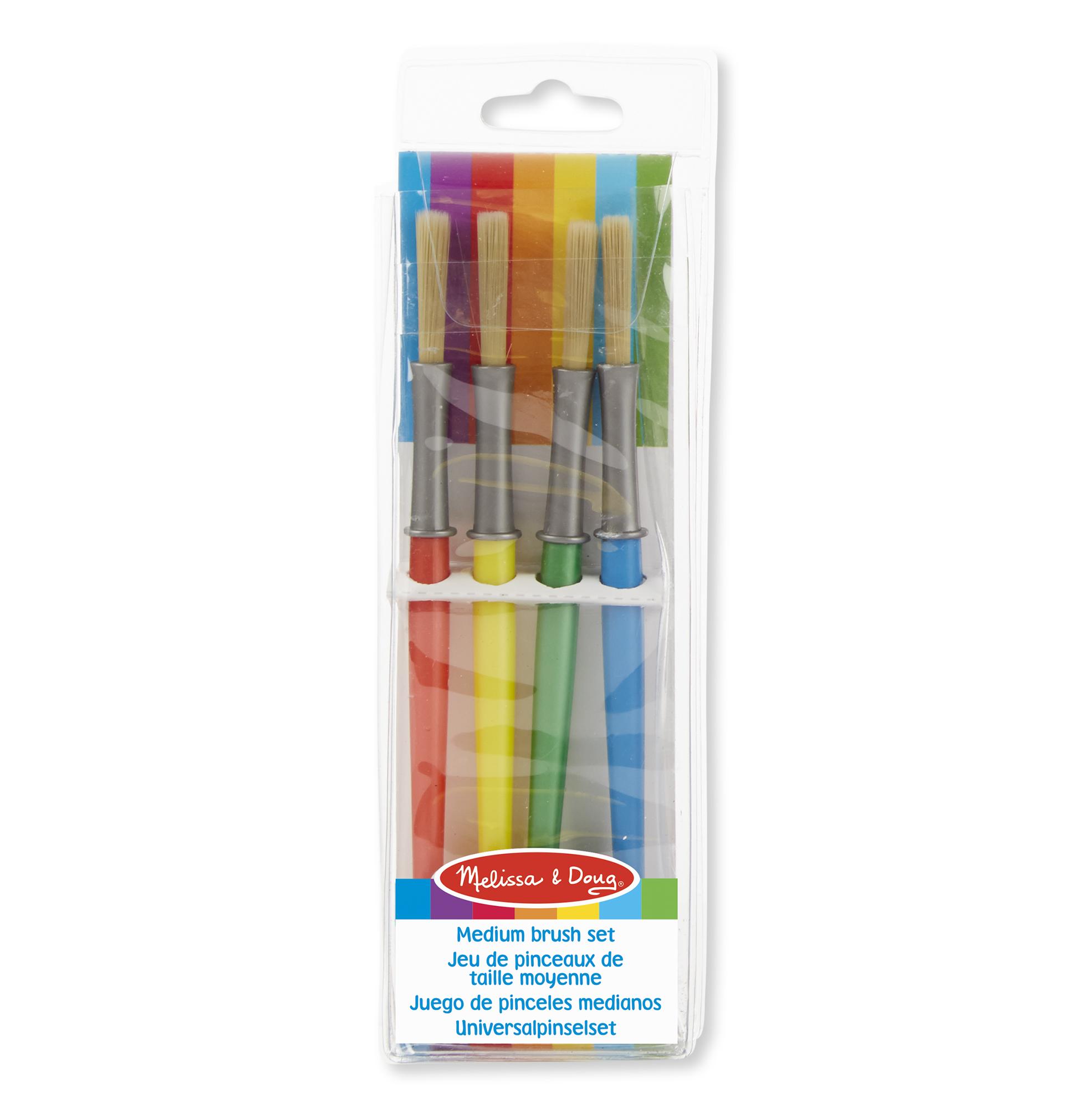 Medium Paint Brushes(set of 4)
