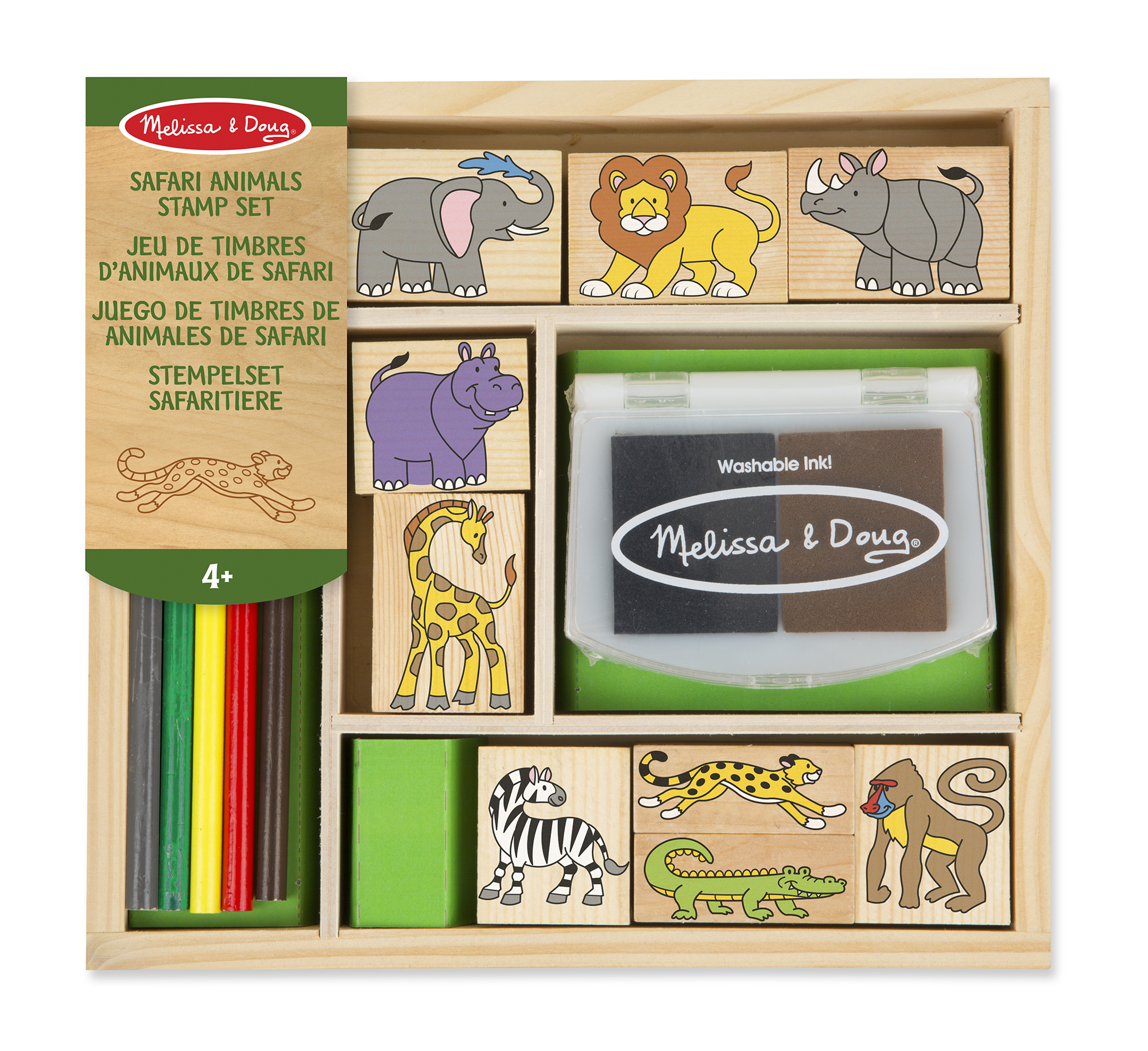 Safari Animal Stamp Set
