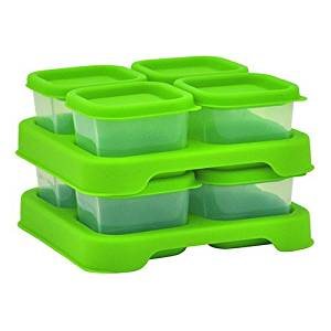 Green Sprouts - Fresh Baby Food - Unbreakable Cubes 60m1 (2oz) - 8 pack - Green