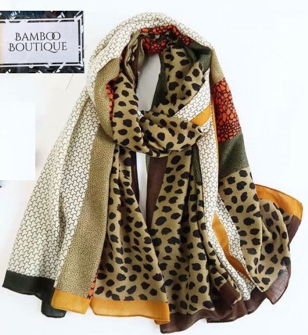 Leopard Print Scarf - New Season (2)