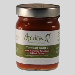 Tomato Sauces - Sundried Tomato & Black Olive, 370g