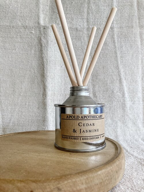 Cedar and Jasmine - Hand Poured Reed Diffuser