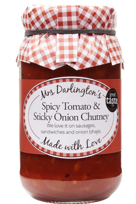 Spicy Tomato & Sticky Onion Chutney