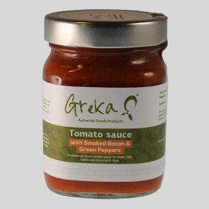 Tomato Sauces - Green Pepper & Smoked Bacon, 370g