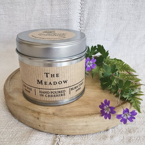 The Meadow - Summer Fragranced - Hand Poured Soy Wax Candle Tin