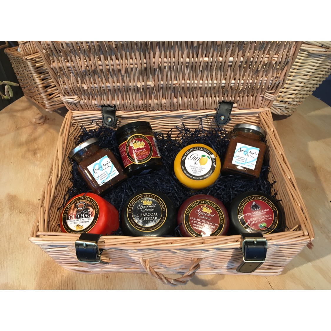 Large Luxury Cheese Hamper (Suitcase) - Sold Out - Why not build your own!?