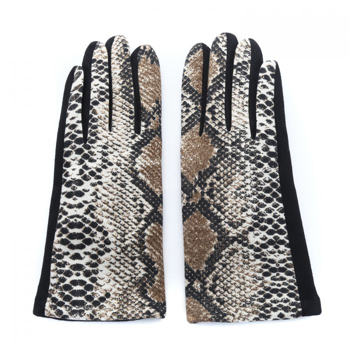 Gloves - Snake Skin Effect