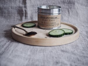 Earl Grey and Cucumber - Hand Poured Soy Wax Candle Tin