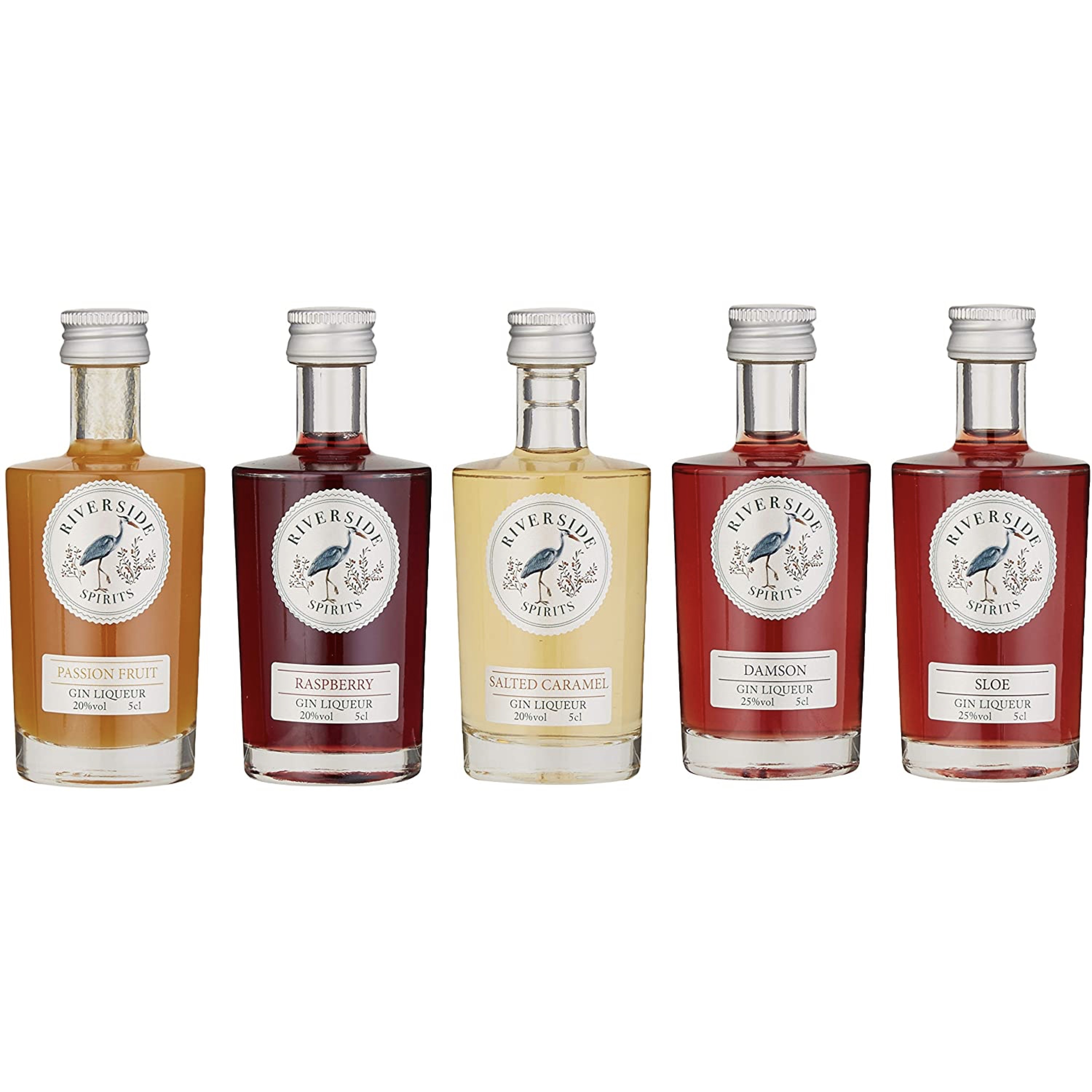 Gin Liqueur, Gift Pack, 5 x 5cl (18+)