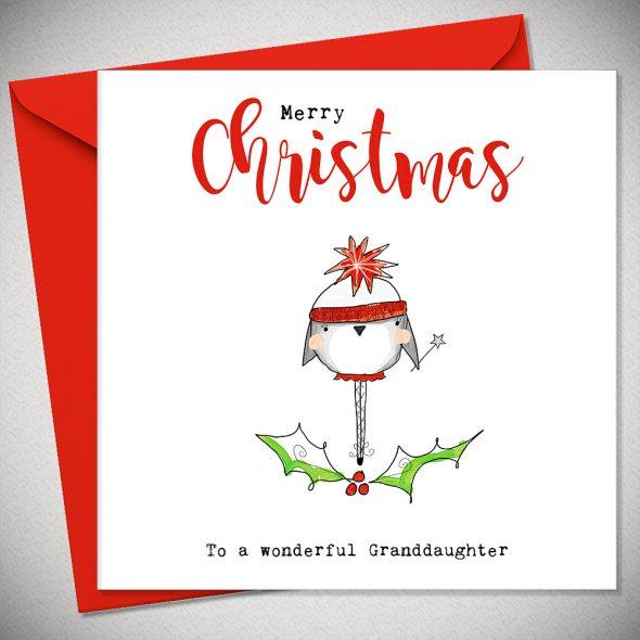 Merry Christmas Granddaughter - Christmas