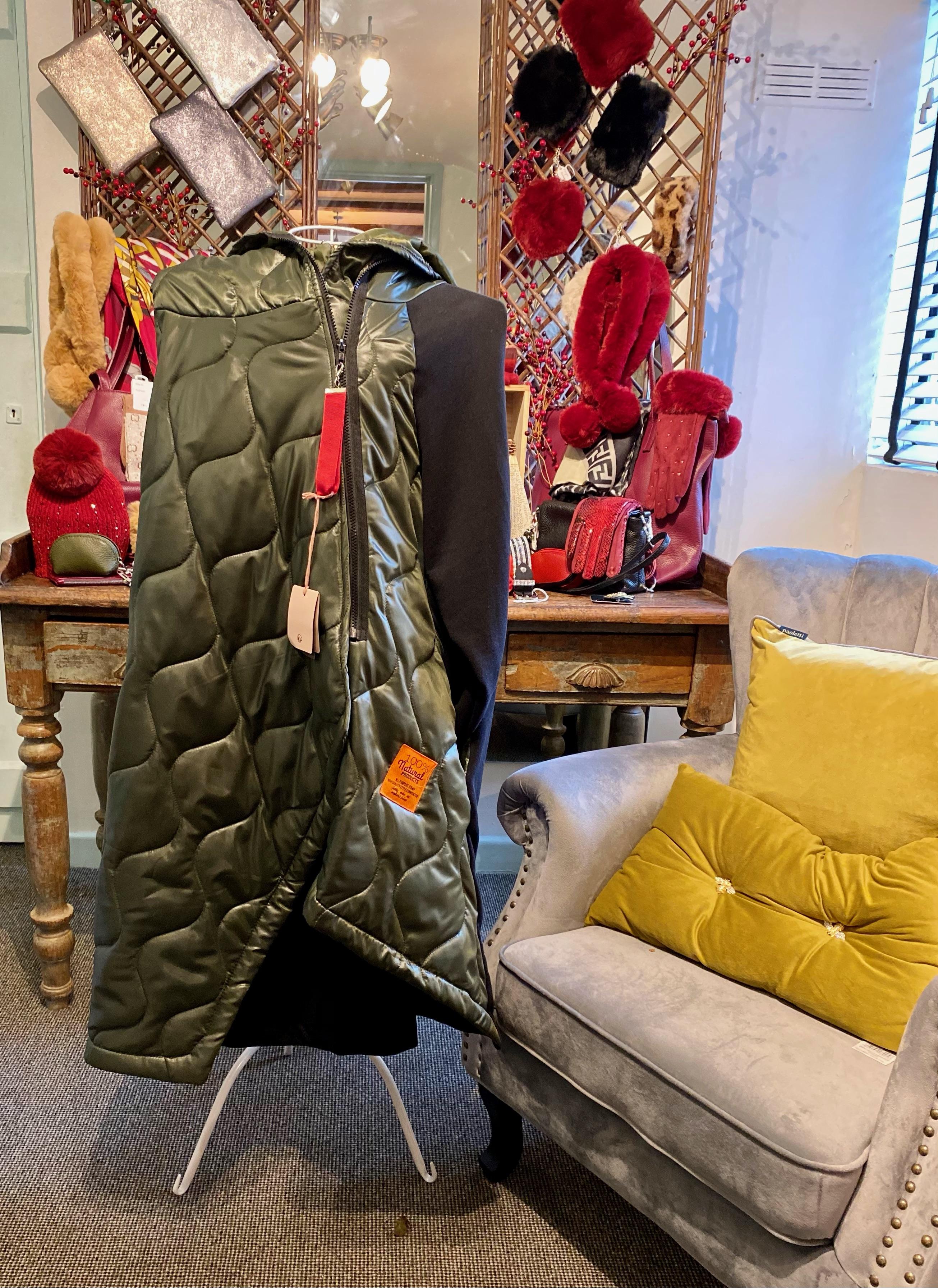 Ladies Coat (Green)