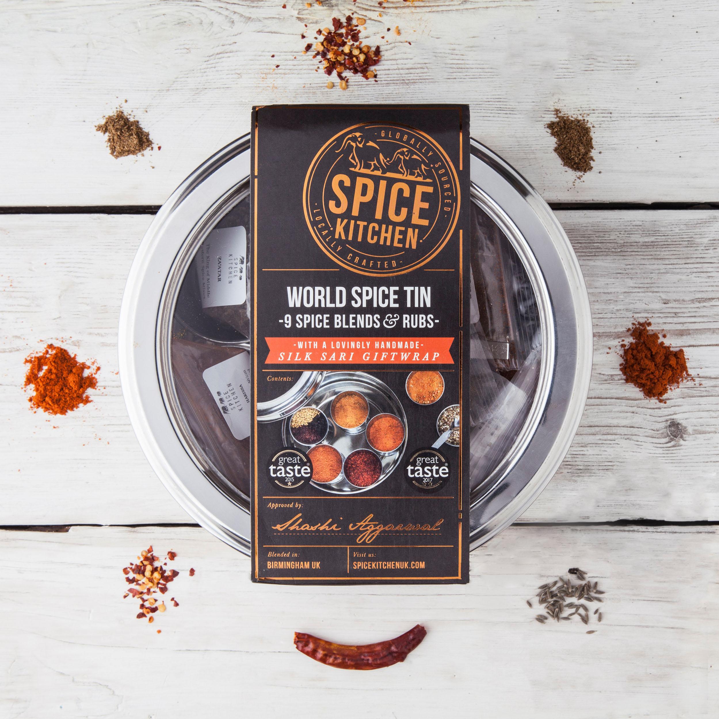 Spice Tin - World Spices