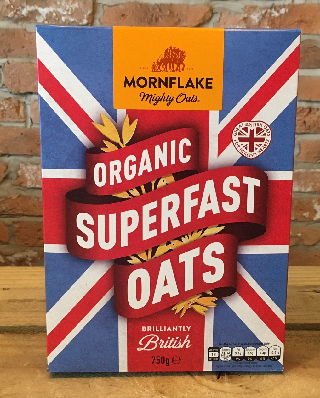 Organic Superfast Oats, 750g