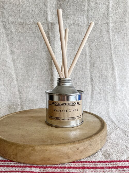 Vintage Linen - Hand Poured Reed Diffuser