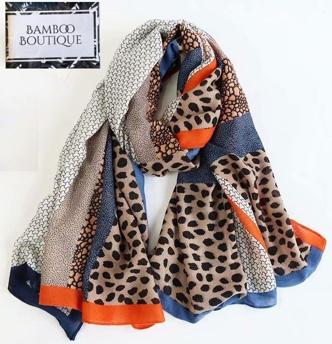 Leopard Print Scarf - New Season