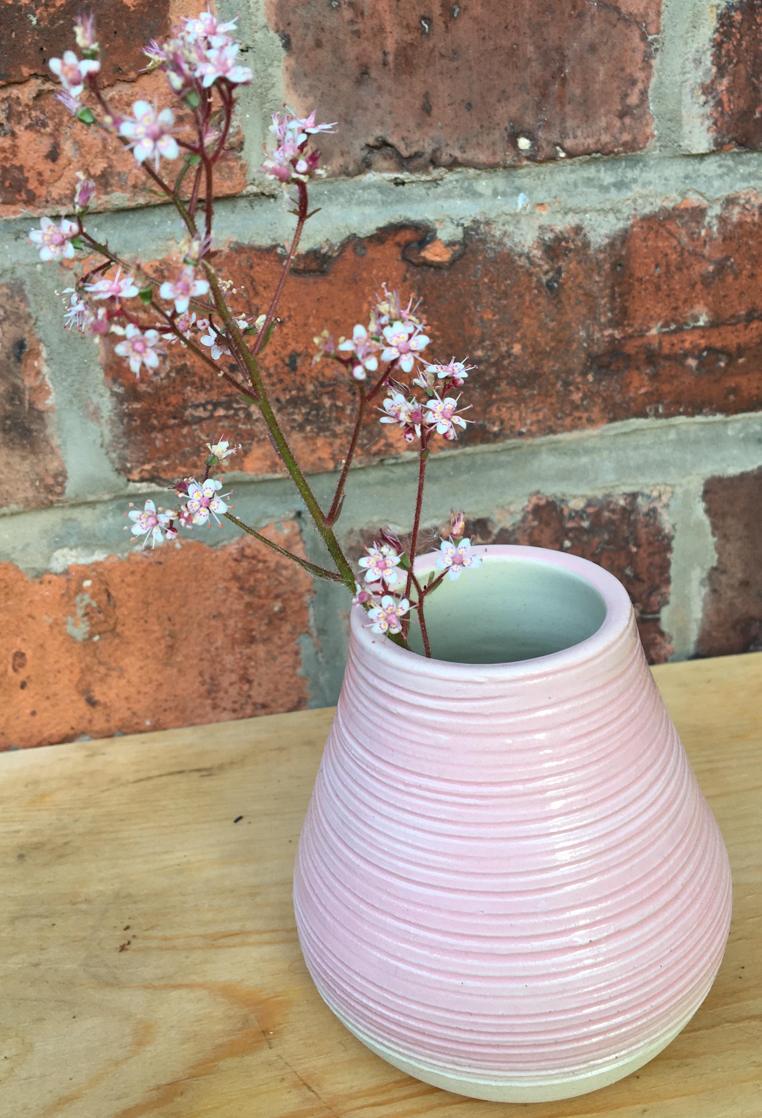 Pink Mini Bud Vase