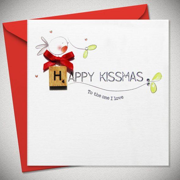 Happy kissmas - Christmas