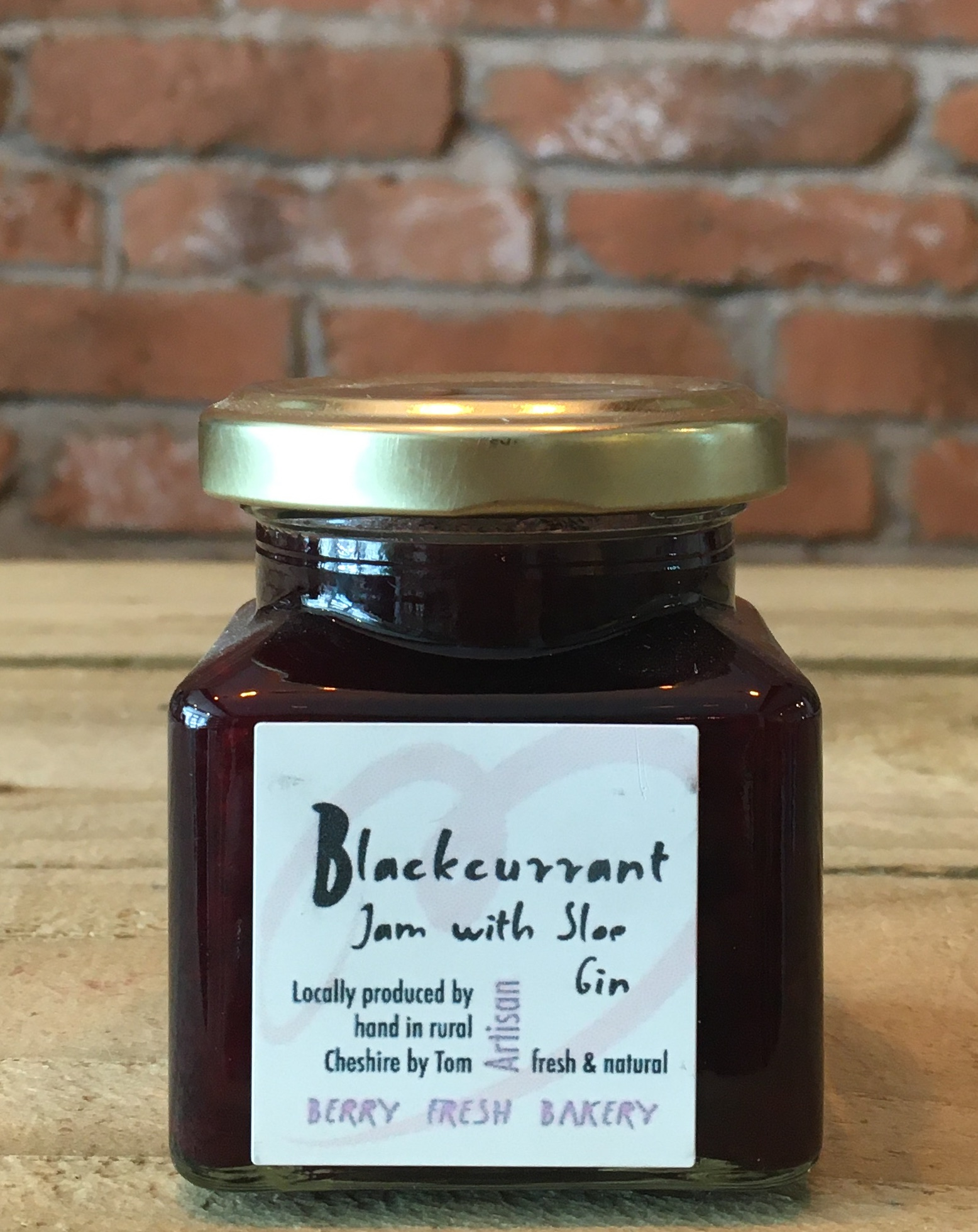Jam - Blackcurrant with Sloe Gin - 120g