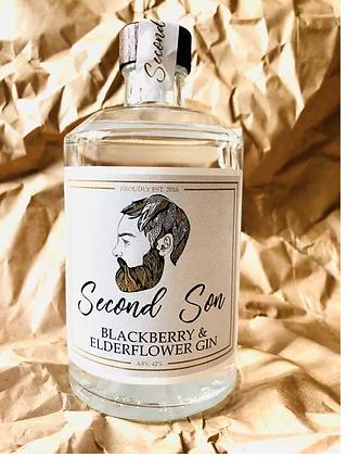 Second Son Blackberry & Elderflower Gin - 50cl