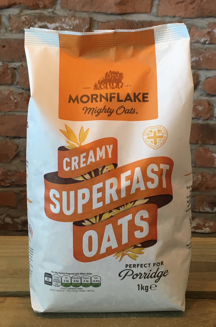 Superfast Rolled Oats, 1kg