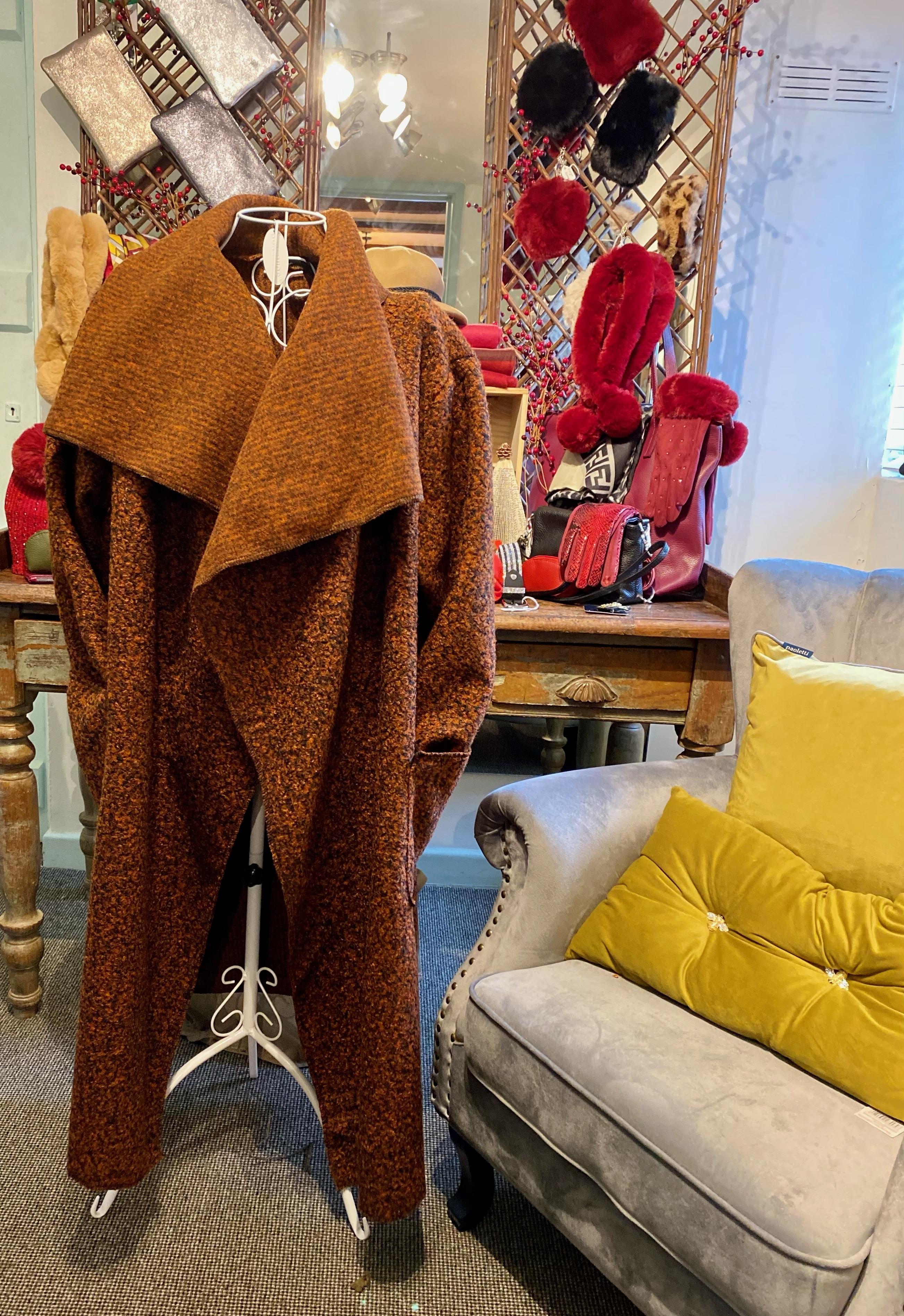 Ladies Coat (Brown)