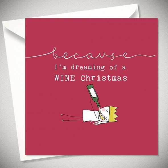 Dreaming of a wine - Christmas